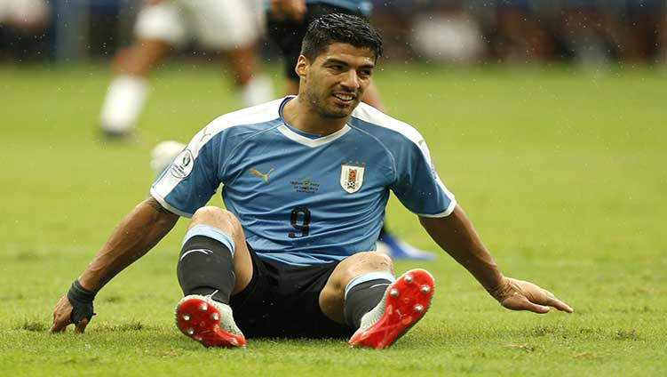 Luis Suarez has disappointed for missing the goal