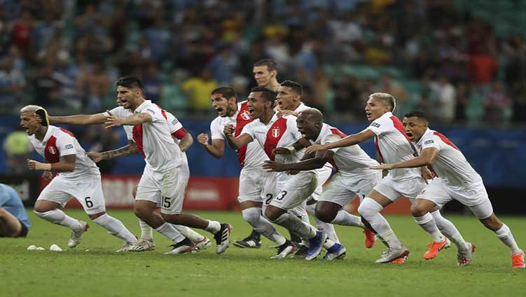 Peru moved to the semi-final by defeating Uruguay!