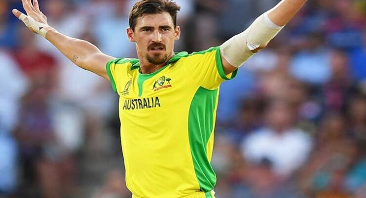 Starc destroyed Black Caps at the Lord's