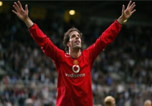 Top 10 Leading Goal Scorers In Champions League Ruud Van Nistelrooy Sportsnile