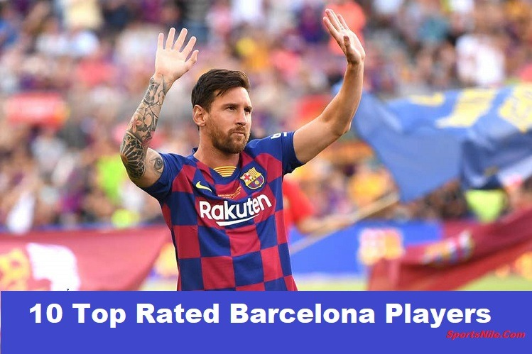 10 Top Rated Barcelona Players Of All Time SportsNile