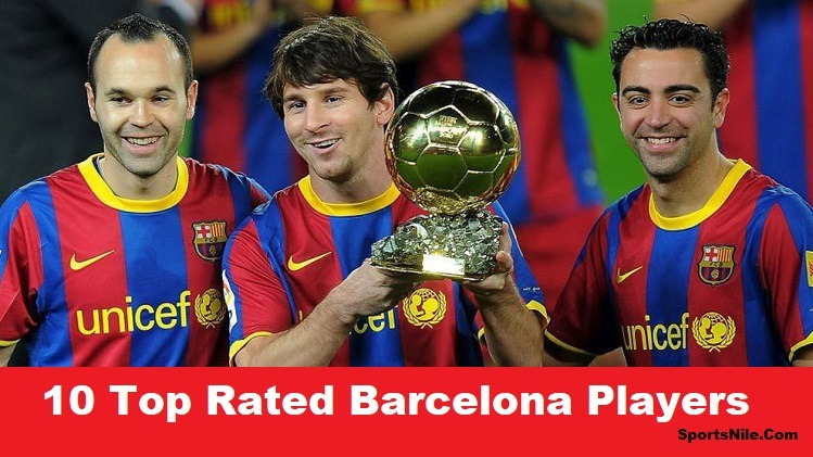 10 Top Rated Barcelona Players SportsNile
