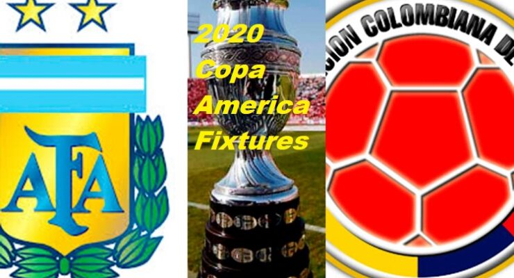 2020 Copa America Fixtures SportsNile