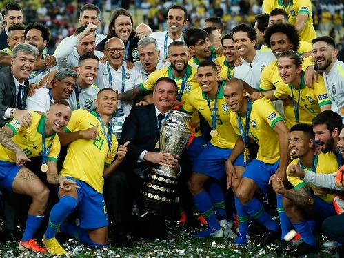 2020 Copa America Possible Winner Brazil Sportsnile