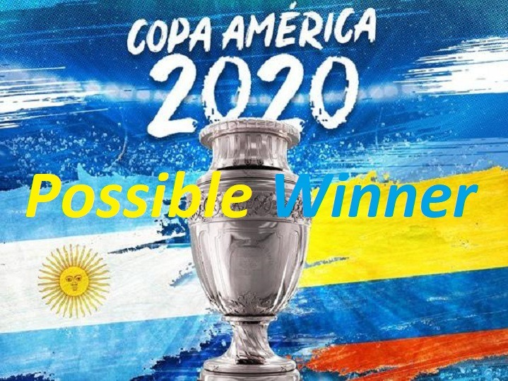 2020 Copa America Possible Winner Sportsnile
