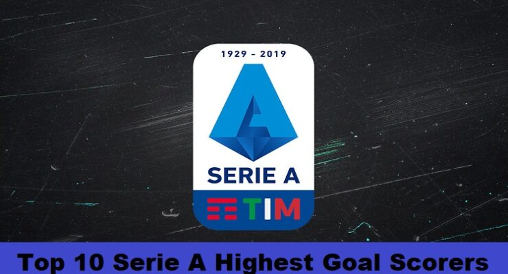 Top 10 Serie A Highest Goal Scorers of All Time SportsNile