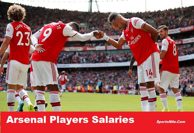 Arsenal Players Salaries SportsNile