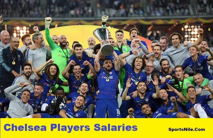 Chelsea Players Salaries SportsNile