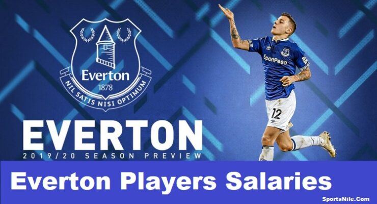 Everton Players Salaries SportsNile
