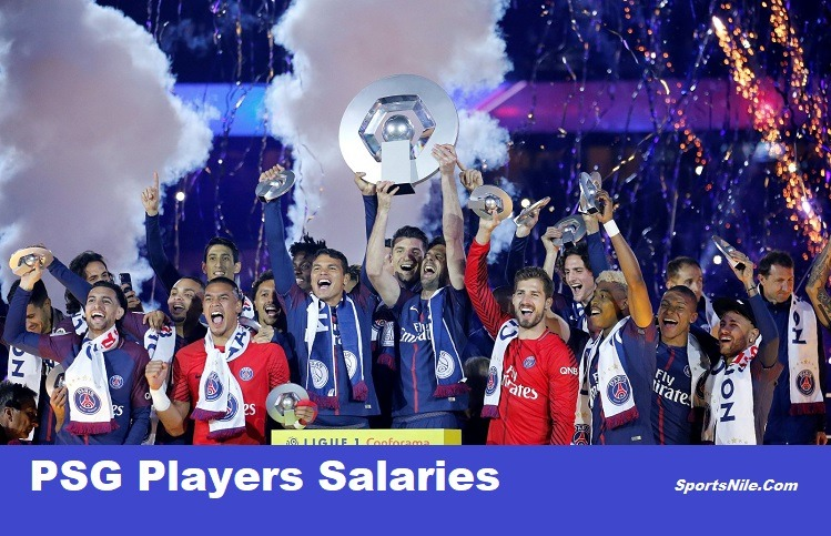 PSG Players Salaries SportsNile