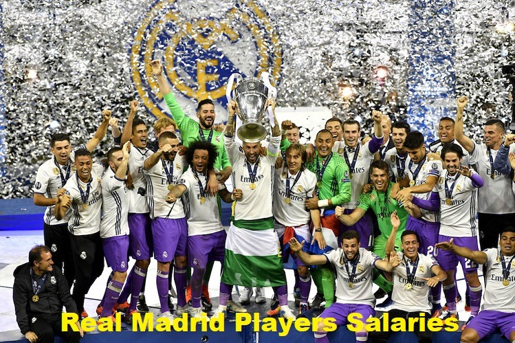 Real Madrid Players Salaries SportsNile