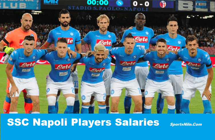 SSC Napoli Players Salaries SportsNile