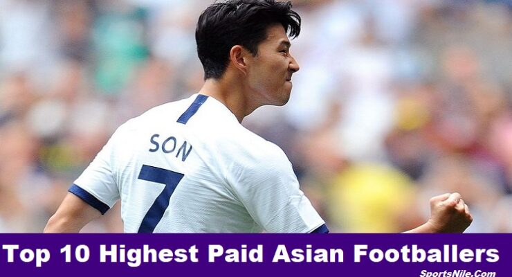 Top 10 Highest Paid Asian Footballers SportsNile