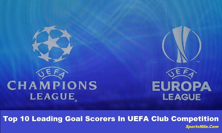 Top 10 Leading Goal Scorers in UEFA Club Competition SportsNile