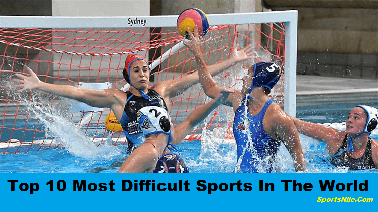 Top 10 Most Difficult Sports In The World SportsNile
