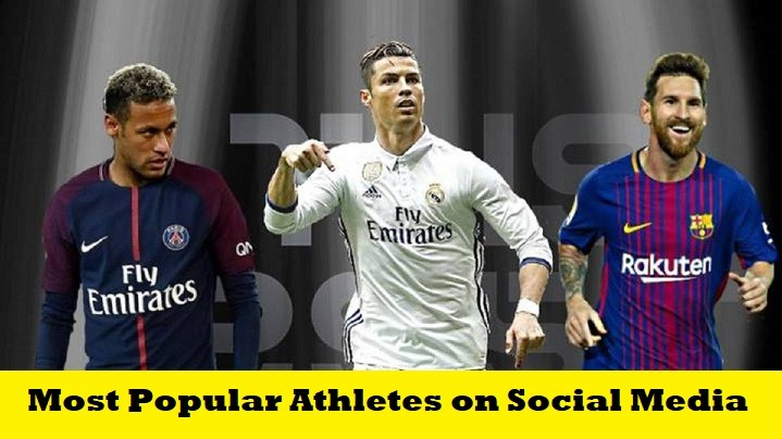 Top 10 Most Popular Athletes on Social Media in the World 2019 SportsNile