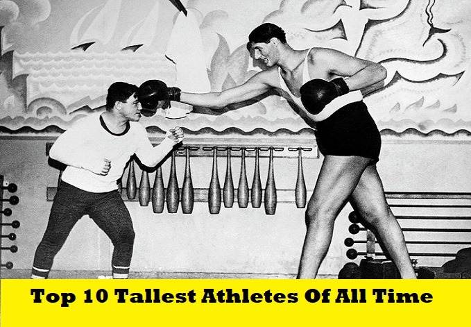 Top 10 Tallest Athletes Of All Time In History Gogea Mitu SportsNile