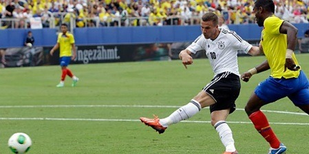 Top 10 Fastest Goals In The Football History Of All Time Lukas Podolski SportsNile