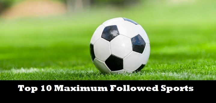 Top 10 Maximum Followed Sports Worldwide 2019 SportsNile