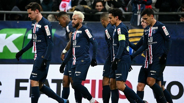 French club PSG has moved to the League Cup final!