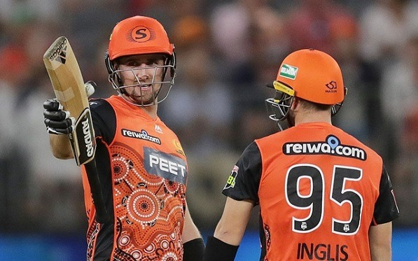 Perth Scorchers won against Thunder by 8 wickets!