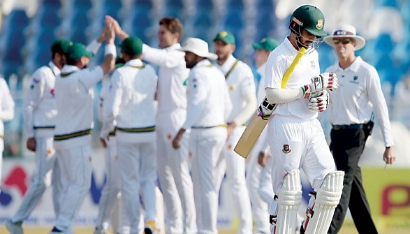 Bangladesh is playing the 1st Test against Pakistan!