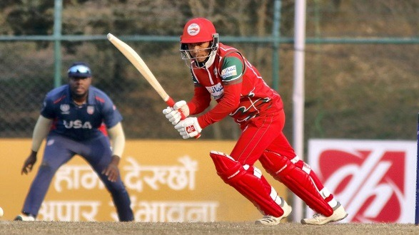 Oman beat the United States by 6 wickets!