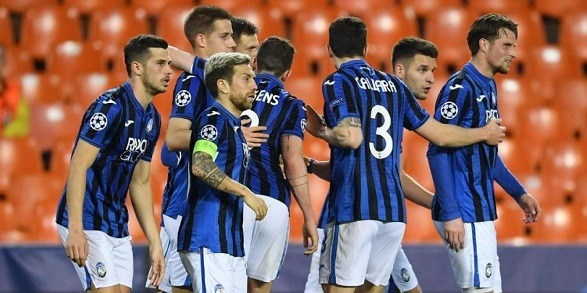 Atalanta confirmed the UCL quarter-final ticket!