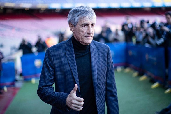 Barca manager Setien wants to fight!