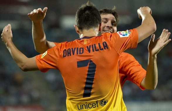 David Villa did not want to leave Valencia!