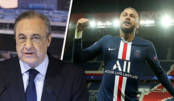Florentino Perez wanted to bring Neymar at the Bernabeu!