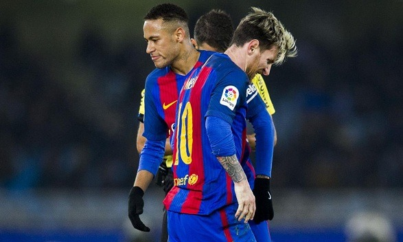 Messi's pure alternative might be Neymar at the Camp Nou!