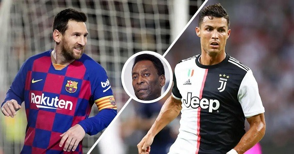 Pele's best is the Argentine Lionel Messi!