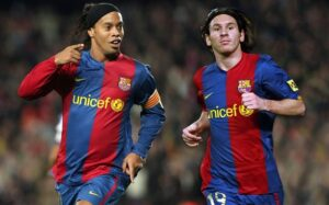 Ronaldinho is one of the great footballers!