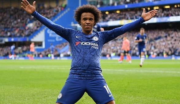 Willian is leaving the Premier League club Chelsea!