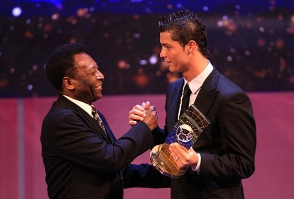 CR7 is planning to surpass Pele's thousand goals record!