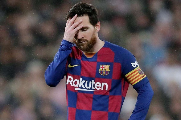 Impossible for Barca to win the UCL by playing like that!