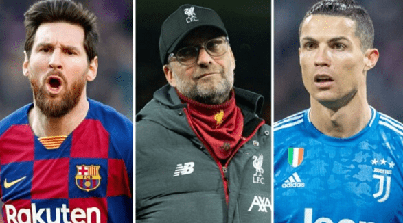Klopp likes Messi a little more than 'perfect' Ronaldo!