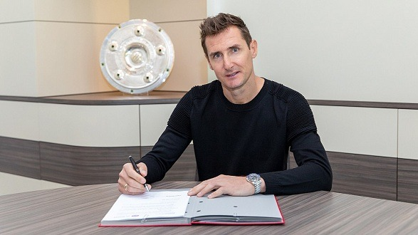 Miroslav Klose has become the assistant coach of Bayern Munich!