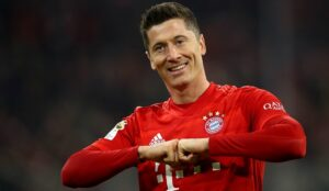 Robert Lewandowski has revealed his favourite five strikers!
