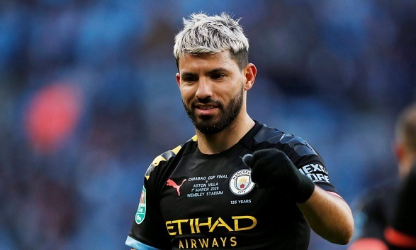 Sergio Aguero is scared of football now!
