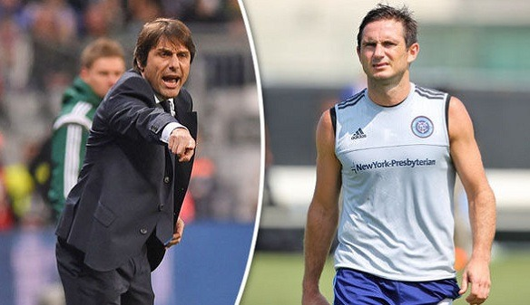The former Chelsea boss Conte praised Frank Lampard!