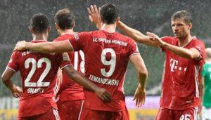 Bayern Munich has confirmed their 8th consecutive Bundesliga title!