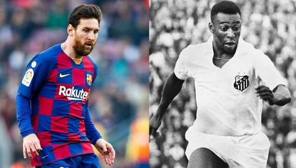 Lionel Messi might overtake Pele's record in the season!