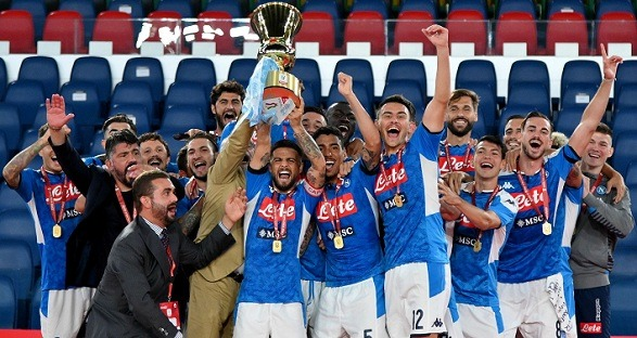 Napoli lifted the Coppa Italia title after five seasons!
