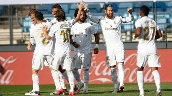 Real's amazing start smashed Eibar by a 3 - 1!