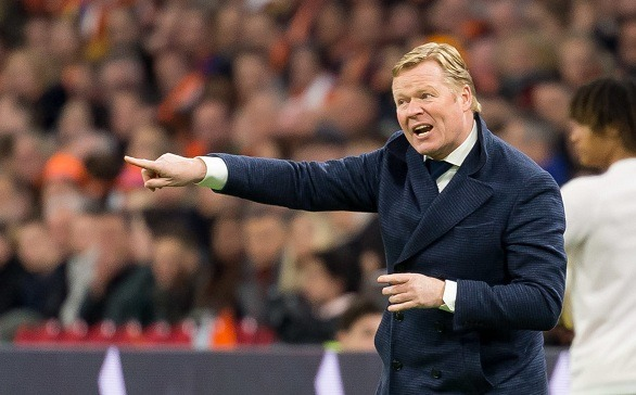 Ronald Koeman wants the Barca coach's position one day!