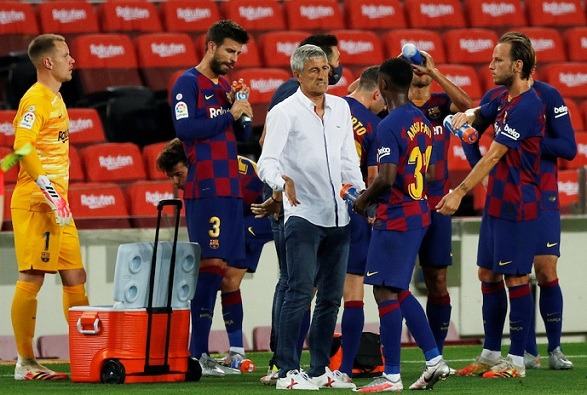 Barca coach has the hope of lifting the Champions League trophy!