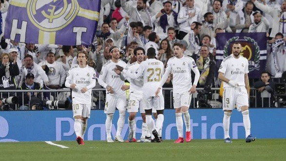 Real Madrid's last La Liga round finished with a 2 - 2 draw!
