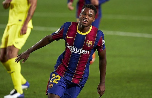 Ansu Fati is finding himself by the support of Lionel Messi!
